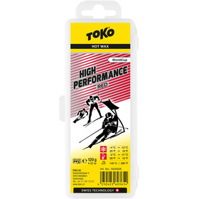 Toko High Performance Racing Wachs Red 120g